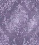 Εκλεκτής ποιότητας μπαρόκ διακοσμημένο διάνυσμα υποβάθρου Βικτοριανή βασιλική σύσταση διακοσμητικό λουλούδι Πορφυρά ντεκόρ χρώματ ελεύθερη απεικόνιση δικαιώματος