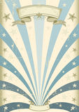 Εκλεκτής ποιότητας μπλε ανασκόπηση Στοκ Εικόνα