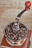 Εκλεκτής ποιότητας μύλος καφέ Στοκ Εικόνα