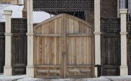 Εκλεκτής ποιότητας ξύλινη γλυπτική στοκ εικόνα με δικαίωμα ελεύθερης χρήσης