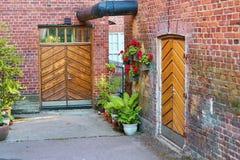 Εκλεκτής ποιότητας πίσω πόρτες στοκ εικόνα με δικαίωμα ελεύθερης χρήσης