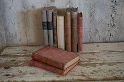 Εκλεκτής ποιότητας παλαιά παλαιά βιβλία Στοκ Εικόνες