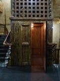 Εκλεκτής ποιότητας παλαιός ανελκυστήρας Στοκ φωτογραφίες με δικαίωμα ελεύθερης χρήσης