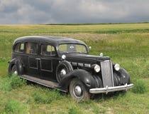 Εκλεκτής ποιότητας παλαιό αυτοκινητικό hearse. Στοκ εικόνα με δικαίωμα ελεύθερης χρήσης