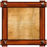 Εκλεκτής ποιότητας παλαιό ξύλινο πλαίσιο απεικόνιση αποθεμάτων