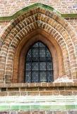 Εκλεκτής ποιότητας παράθυρο στην εκκλησία του ST James ο απόστολος στο Τορούν στοκ εικόνα με δικαίωμα ελεύθερης χρήσης