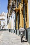 Εκλεκτής ποιότητας ποδήλατο μπροστά από το παλαιό σπίτι στοκ εικόνα με δικαίωμα ελεύθερης χρήσης