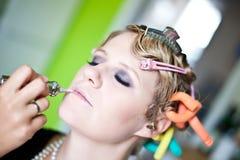 Εκλεκτής ποιότητας πορτρέτο γυναικών ύφους στοκ εικόνες με δικαίωμα ελεύθερης χρήσης