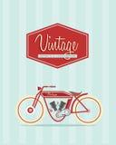 Εκλεκτής ποιότητας ποδήλατο Στοκ Εικόνα
