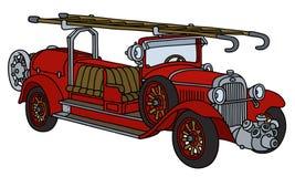 Εκλεκτής ποιότητας πυροσβεστικό όχημα ελεύθερη απεικόνιση δικαιώματος