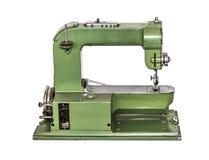 Εκλεκτής ποιότητας ράβοντας μηχανή στο άσπρο υπόβαθρο Στοκ Εικόνες