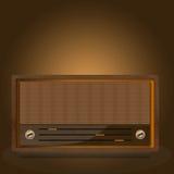 Εκλεκτής ποιότητας ραδιόφωνο. Στοκ Εικόνες