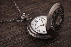 εκλεκτής ποιότητας ρολόι στοκ φωτογραφία