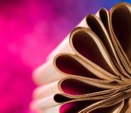 Εκλεκτής ποιότητας σελίδες βιβλίων Στοκ εικόνες με δικαίωμα ελεύθερης χρήσης