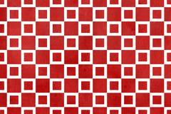 Εκλεκτής ποιότητας σκούρο κόκκινο τετραγωνικό σχέδιο watercolor Στοκ εικόνα με δικαίωμα ελεύθερης χρήσης
