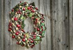 Εκλεκτής ποιότητας στεφάνι Χριστουγέννων Στοκ Εικόνα