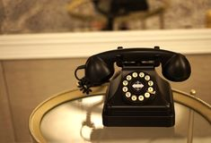 Εκλεκτής ποιότητας συσκευή επικοινωνιών Στοκ Εικόνα