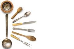 Εκλεκτής ποιότητας σύνθεση μαχαιροπήρουνων Στοκ φωτογραφία με δικαίωμα ελεύθερης χρήσης