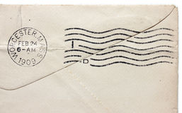 Εκλεκτής ποιότητας ταχυδρομική σφραγίδα Στοκ εικόνα με δικαίωμα ελεύθερης χρήσης
