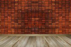Εκλεκτής ποιότητας τούβλινος τοίχος, κενό διάστημα, διάστημα αντιγράφων στοκ φωτογραφία με δικαίωμα ελεύθερης χρήσης