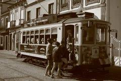 Εκλεκτής ποιότητας τραίνο που συλλέγει τους τουρίστες! στοκ φωτογραφία με δικαίωμα ελεύθερης χρήσης