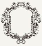 Εκλεκτής ποιότητας υψηλό περίκομψο αρχικό πλαίσιο Στοκ Εικόνες