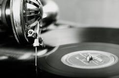 Εκλεκτής ποιότητας φωνογράφος Στοκ Φωτογραφίες