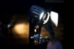 Εκλεκτής ποιότητας φως σημείων θεάτρων στο στούντιο στοκ εικόνα με δικαίωμα ελεύθερης χρήσης