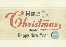Εκλεκτής ποιότητας Χριστούγεννα 2013 Στοκ φωτογραφίες με δικαίωμα ελεύθερης χρήσης