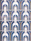Εκλεκτής ποιότητας azulejos, παραδοσιακά πορτογαλικά κεραμίδια Στοκ εικόνα με δικαίωμα ελεύθερης χρήσης