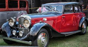 Εκλεκτής ποιότητας Bentley Στοκ εικόνα με δικαίωμα ελεύθερης χρήσης