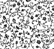Εκλεκτής ποιότητας floral πρότυπο Στοκ Φωτογραφία