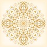 Εκλεκτής ποιότητας floral υπόβαθρο με τα διακοσμητικά λουλούδια για το σχέδιο Στοκ Εικόνες