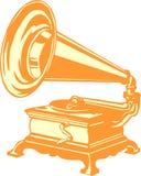 Εκλεκτής ποιότητας gramophone Στοκ Φωτογραφία