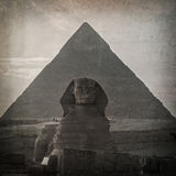 Εκλεκτής ποιότητας Sphinx Στοκ Φωτογραφίες