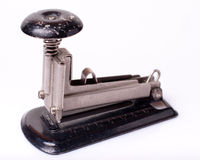 Εκλεκτής ποιότητας stapler στοκ εικόνες