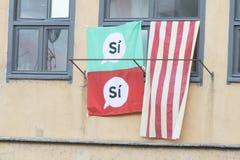 Εκλογές στην Καταλωνία Στοκ εικόνες με δικαίωμα ελεύθερης χρήσης
