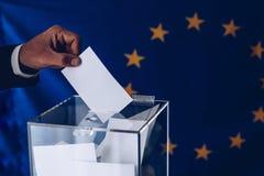 Εκλογές στο Ευρωπαϊκό Κοινοβούλιο Εκλογές της ΕΕ στοκ φωτογραφία με δικαίωμα ελεύθερης χρήσης