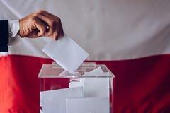 Εκλογές στο πολωνικό Κοινοβούλιο στοκ εικόνες με δικαίωμα ελεύθερης χρήσης