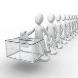εκλογές Στοκ εικόνα με δικαίωμα ελεύθερης χρήσης