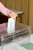 Εκλογές στοκ φωτογραφία με δικαίωμα ελεύθερης χρήσης