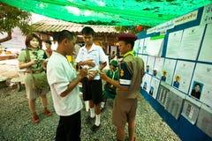 Εκλογές Chang Ko, Ταϊλάνδη. Στοκ φωτογραφία με δικαίωμα ελεύθερης χρήσης