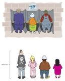 εκλογή ημέρας Στοκ φωτογραφίες με δικαίωμα ελεύθερης χρήσης