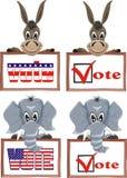 εκλογή ΗΠΑ Στοκ φωτογραφίες με δικαίωμα ελεύθερης χρήσης