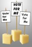 εκλογή Στοκ Εικόνες