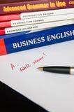 εκμάθηση αγγλικής γλώσσ&a Στοκ εικόνες με δικαίωμα ελεύθερης χρήσης