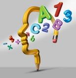 Εκμάθηση και εκπαίδευση διανυσματική απεικόνιση