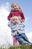 εκμάθηση να περπατά Στοκ εικόνα με δικαίωμα ελεύθερης χρήσης