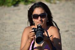 Εκμάθηση να φωτογραφίζει στοκ εικόνες