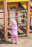 εκμάθηση πληθυσμού μωρών Στοκ φωτογραφία με δικαίωμα ελεύθερης χρήσης